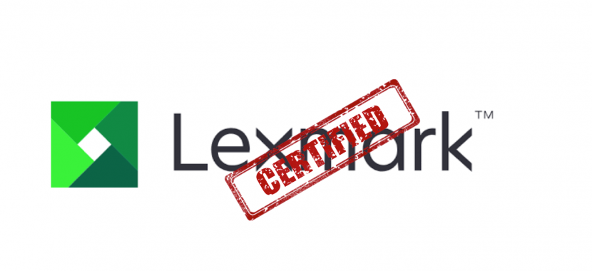 Lexmark devices certification for the Navy One Net system – TridentEP